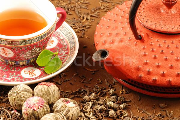 茶 伝統的な 中国語 カップ ストックフォト © fyletto