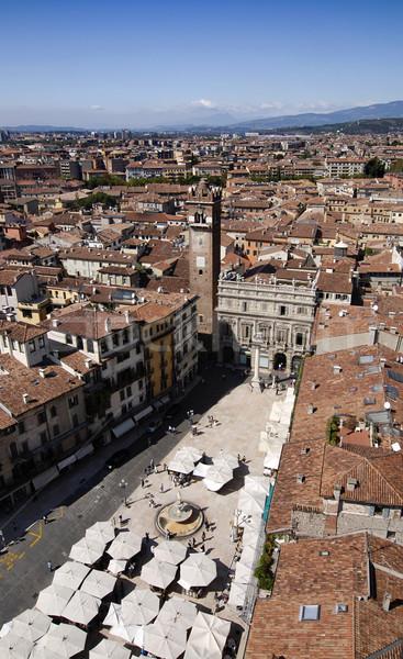 известный Верона Италия путешествия рынке домах Сток-фото © fyletto