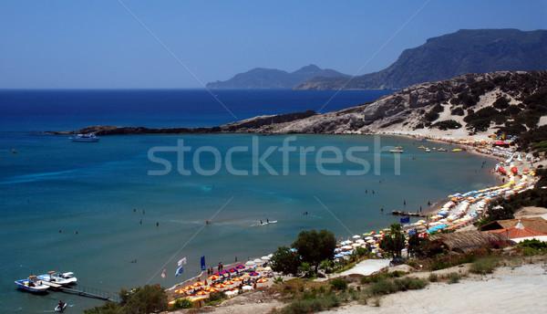 Paradis plage Grèce grec île eau Photo stock © fyletto