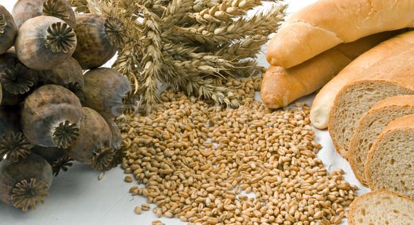 コーンフレーク 孤立した 穀物 ベーカリー 製品 白 ストックフォト © fyletto