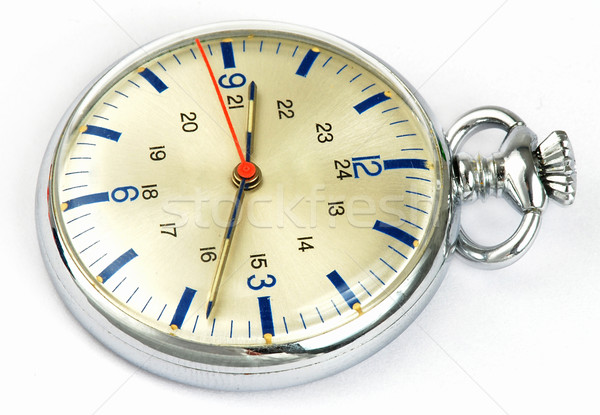 Silver watch Stock photo © fyletto