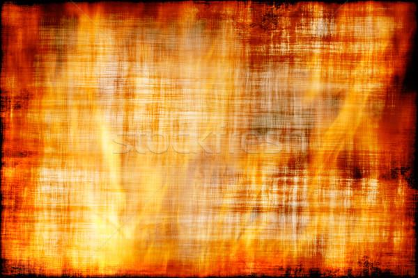 Grungy flame Stock photo © fyletto
