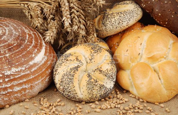 товары различный свежие пшеницы зерна Сток-фото © fyletto