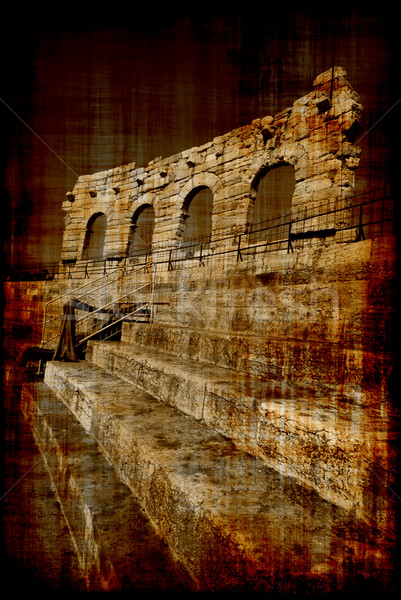 Arena in Verona Stock photo © fyletto