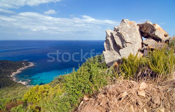 Blue lagoon Stock photo © fyletto