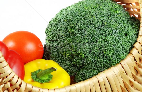овощей корзины полный свежие здорового природы Сток-фото © fyletto