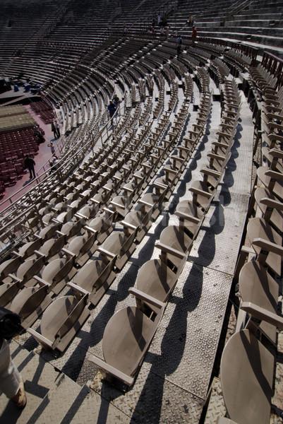 Verona arena Itália céu música nuvens Foto stock © fyletto