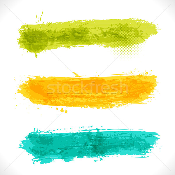 Vector Grunge Banners Stock photo © Fyuriy