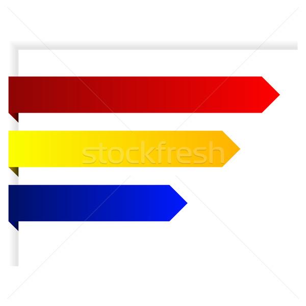 Paper arrows Stock photo © Fyuriy