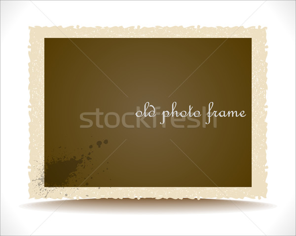 Old Photo Frame Stock photo © Fyuriy