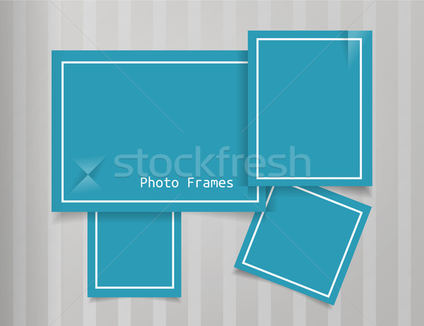 Photo Frames Design Background Stock photo © Fyuriy