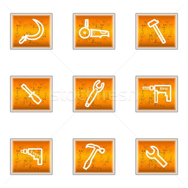 набор веб-иконы 31 бизнеса Сток-фото © Fyuriy