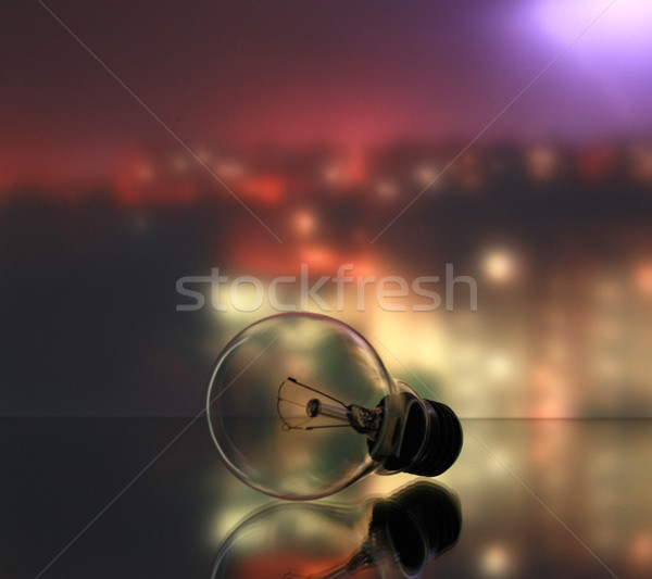 Lamp on industrial background Stock photo © Fyuriy