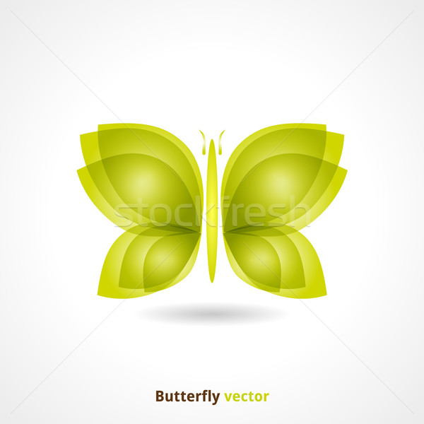 Butterfly Background Stock photo © Fyuriy