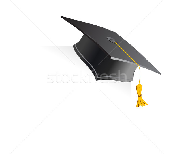 Education Cup on white background Stock photo © Fyuriy