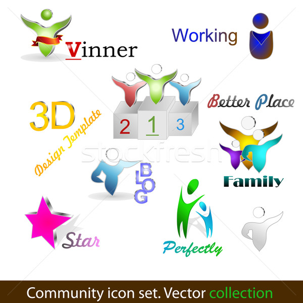 Community pack Stock photo © Fyuriy