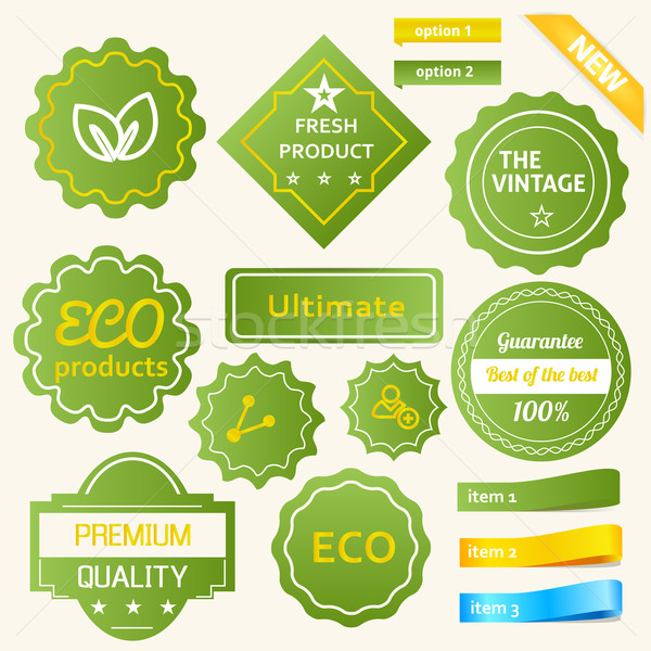 Eco Green Design Stock photo © Fyuriy