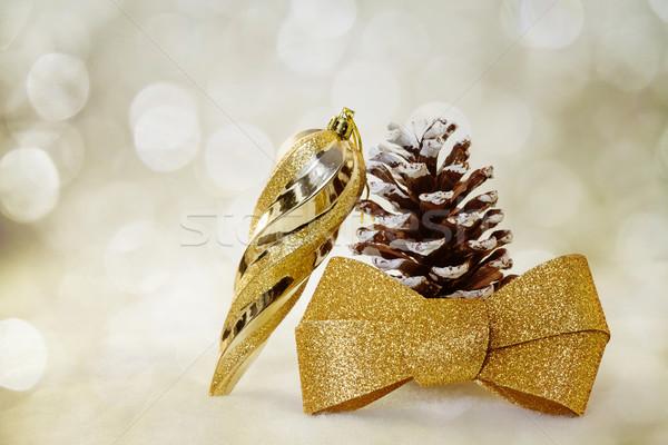 Сток-фото: Рождества · дизайна · стекла · зима · цвета