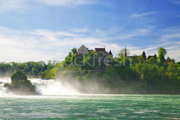 Rhine Falls. Northern Svitserland. Europe Stock photo © g215