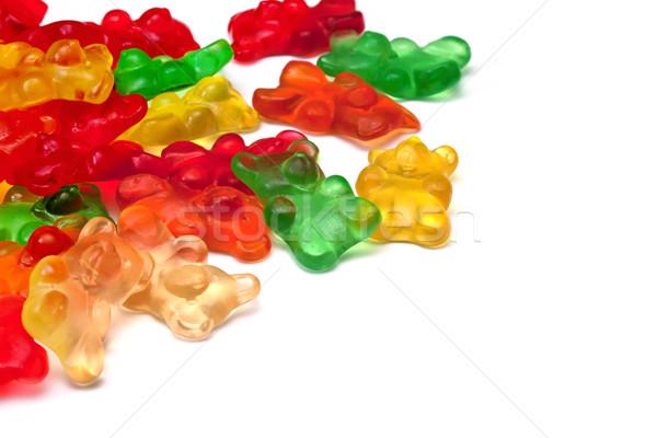 Background of gummi bears Stock photo © g215