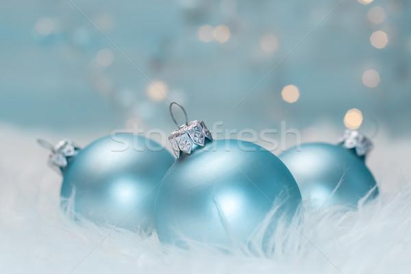 クリスマス 光 デザイン ガラス ストックフォト © g215