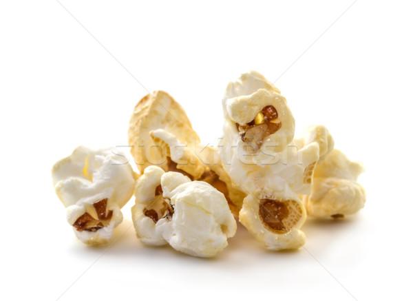 попкорн белый фон есть поп Сток-фото © g215