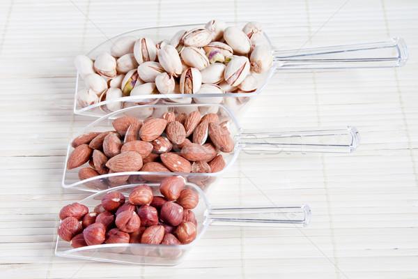 Noten voedsel moer gezonde niemand bruin Stockfoto © g215