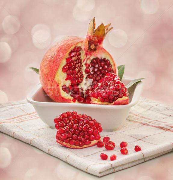 зрелый фрукты зеленый красный сока десерта Сток-фото © g215