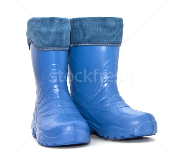 rubber boots isolated on white background  Stock photo © g215