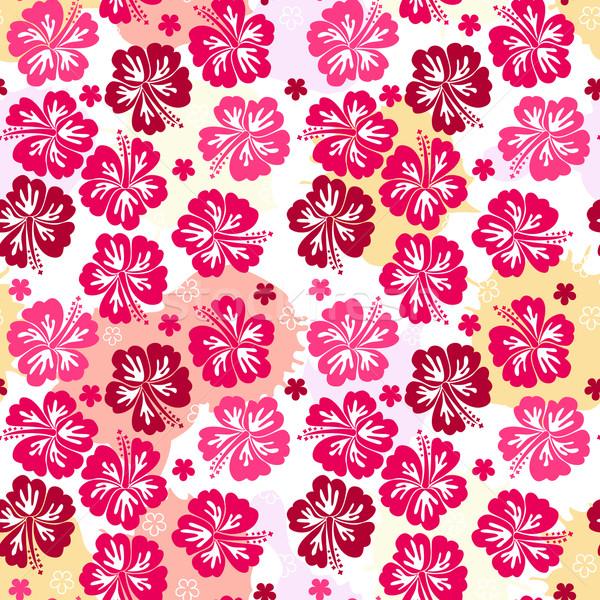 искусства лет листьев Живопись ткань Сток-фото © g215