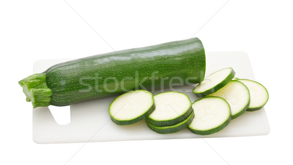 zucchini isolated on a white background Stock photo © g215