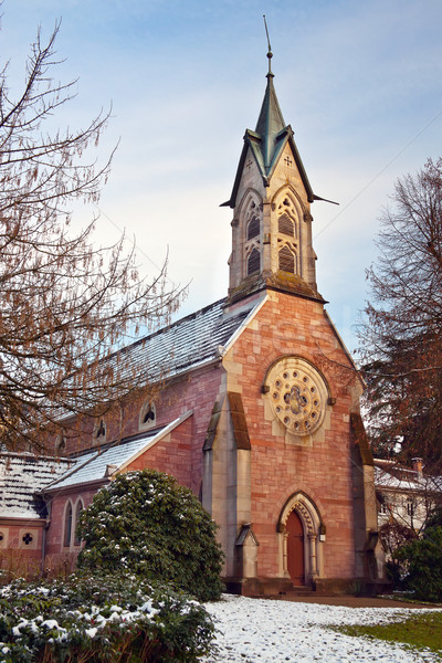 Evangelical Church. Europe, Germany, Baden-Baden Stock photo © g215