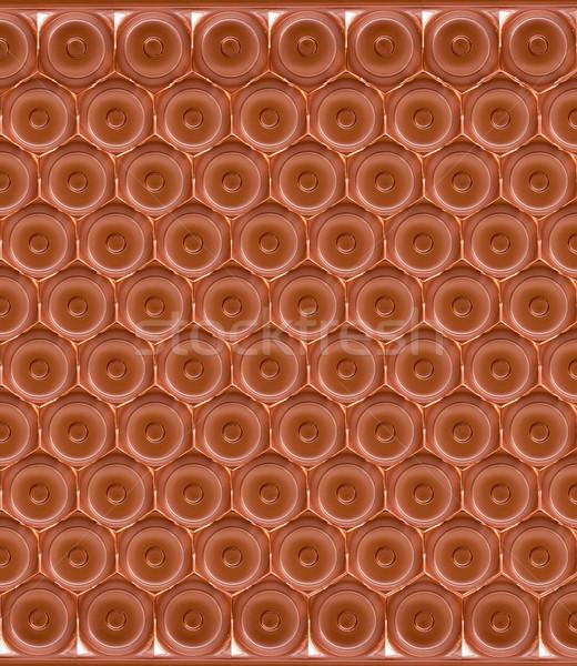 Abstrakten Textur Blatt Metall dunkel Tapete Stock foto © g215