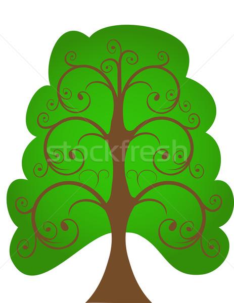The openwork tree.  Stock photo © g215