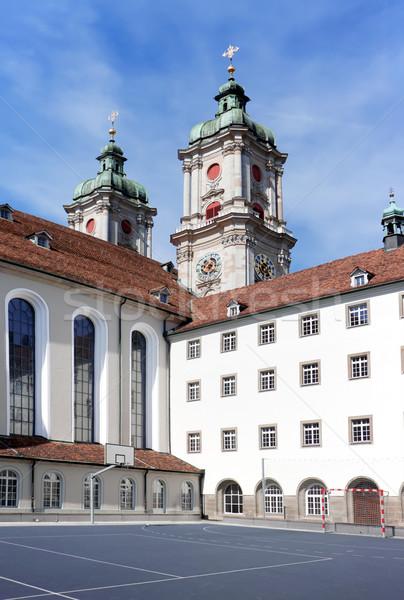 The building of St. Gallen University. Europe. Switzerland. Stock photo © g215