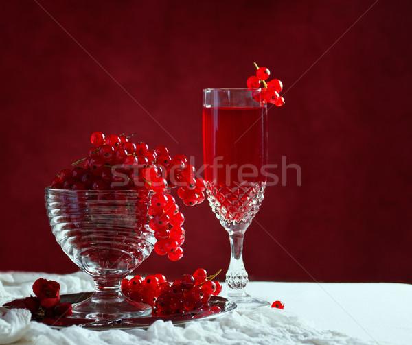 Natürmort kırmızı ışık yaprak yaz grup Stok fotoğraf © g215