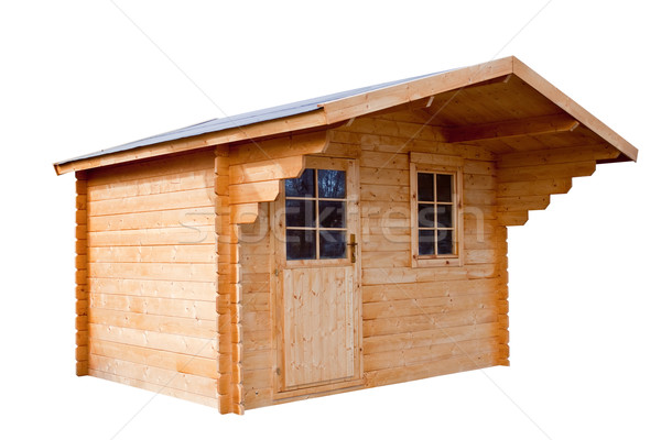 Garden house, isolated on a white background. Stock photo © g215