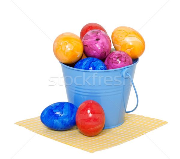 пасхальных яиц ковша белый Пасху дизайна области Сток-фото © g215