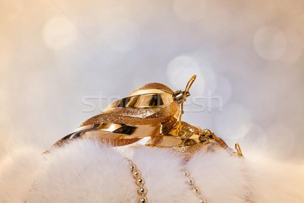 Рождества дизайна стекла зима цвета Сток-фото © g215