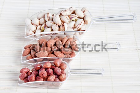 3 kinds of nuts Stock photo © g215