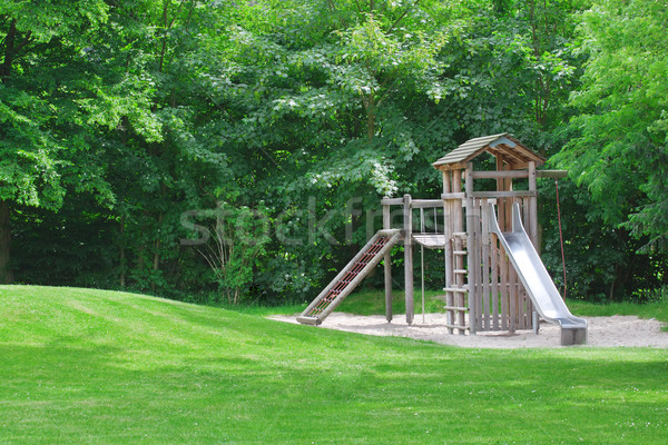 playground in a city park. Stock photo © g215