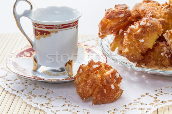 French pastries on a plate  Stock photo © g215