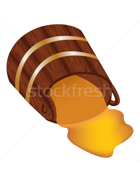 Cask honey  Stock photo © g215