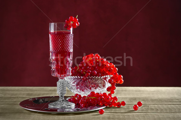 Still life with red currants Stock photo © g215