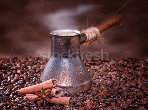 Freshly brewed coffee Stock photo © g215