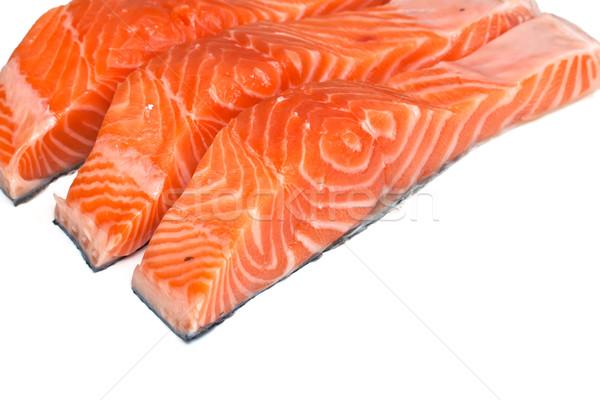 Fillet of salmon  Stock photo © g215