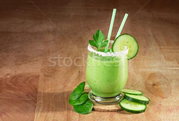 Delicioso vegetal verde legumes comida Foto stock © g215