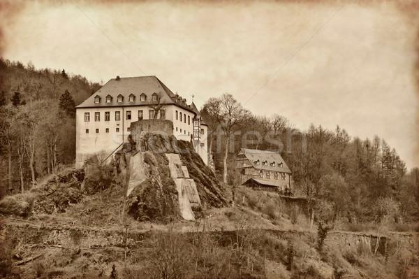 The castle was Bilstein Stock photo © g215