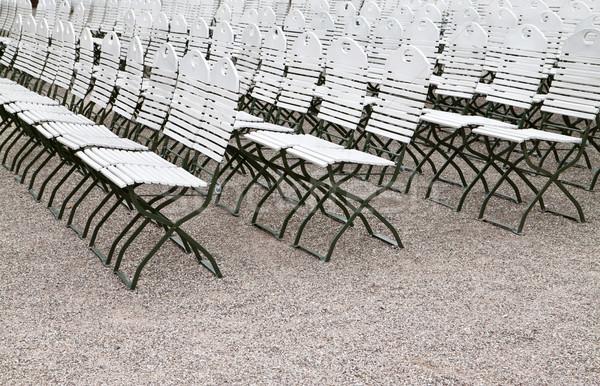 стульев улице фон лет белый Сток-фото © g215