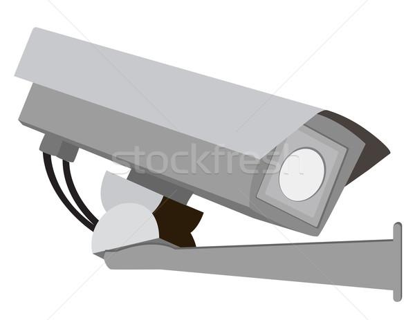 камеры безопасности белый стены технологий стекла контроля Сток-фото © g215